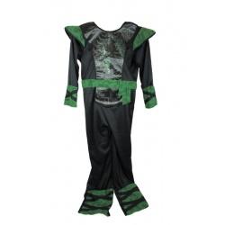 Dětský kostým zelený ninja