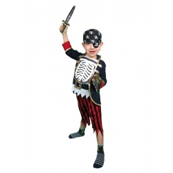 Dětský kostým kostěný pirát 2