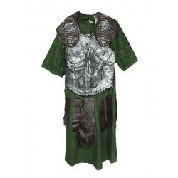 Pánský kostým gladiátor zelený
