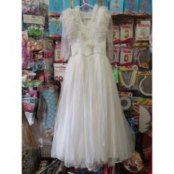 Kostým krásné bíl šaty pro...