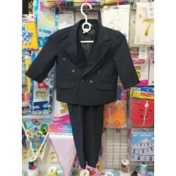 Dětský oblek černý s...