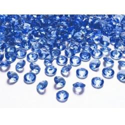 Diamant modrý 100 ks 1,2 cm