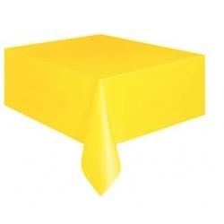 Fóliový ubrus žlutý 120*140 cm