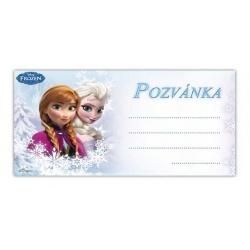 Pozvánka na párty Frozen Y03